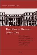 Das Hôtel de Galliffet, 1784-1792