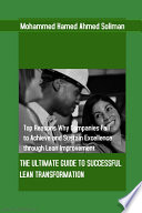 The Ultimate Guide to Successful Lean Transformation Book