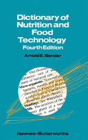 Dictionary of Nutrition and Food Technology [Pdf/ePub] eBook