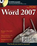Microsoft Word 2007 Bible
