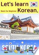 Basic For Beginner Let S Learn Korean