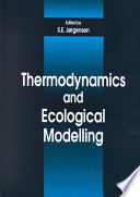 Thermodynamics And Ecological Modelling Book PDF