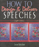 How to Design   Deliver Speeches