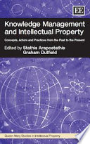 Knowledge Management And Intellectual Property