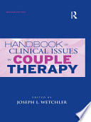 Handbook of Clinical Issues in Couple Therapy