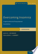Overcoming Insomnia Book