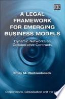 A Legal Framework from Emerging Business Models Book
