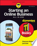 Starting an Online Business All in One For Dummies