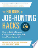 The Big Book Of Job Hunting Hacks