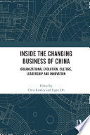 Inside the Changing Business of China