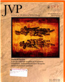 Journal of Vertebrate Paleontology