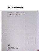 Metalforming Book