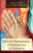 Pdf Génie du Christianisme - et Défense du Génie du Christianisme (L'édition intégrale) Telecharger