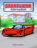 Sports Car Coloring Book