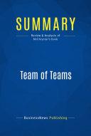 Summary  Team of Teams Book