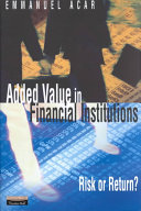 Added Value in Financial Institutions