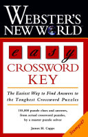 Webster s New World Easy Crossword Key