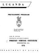 Luganda  Pretraining Program