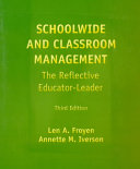 Schoolwide and Classroom Management Book