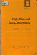Public Goods and Income Distribution