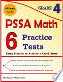 6 PSSA Math Practice Tests Grade 4