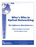 Who's who in Optical Networking Pdf/ePub eBook