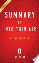 Summary of Into Thin Air