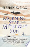 Morning Star Midnight Sun Book