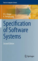 Specification of Software Systems