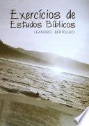Exercícios De Estudos Bíblicos