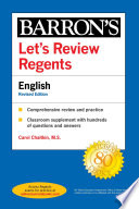 Let's Review Regents: English Revised Edition