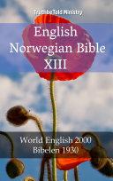 English Norwegian Bible XIII