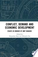 Conflict  Demand and Economic Development