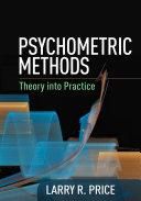 Psychometric Methods: Theory into Practice - Seite ii