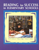 Reading for Success in Elementary Schools