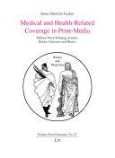 Medical and Health-Related Coverage in Print-Media Pdf/ePub eBook