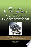 Digital Information And Knowledge Management Book PDF