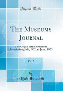 The Museums Journal, Vol. 2