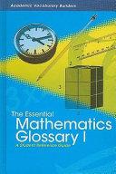 The Essential Mathematics Glossary I Book