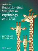 Understanding Statistics in Psychology with SPSS Book
