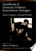 Handbook of Domestic Violence Intervention Strategies Book