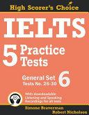 IELTS 5 Practice Tests  General Set 6
