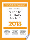 Guide To Literary Agents 2018 Book PDF