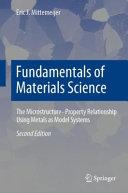 Fundamentals of Materials Science Book
