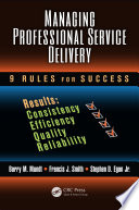 Managing Professional Service Delivery