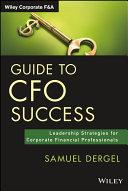 Pdf Guide to CFO Success Telecharger