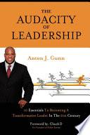 The Audacity Of Leadership Book