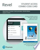 Revel for Essentials of Human Communication -- Combo Access Card