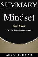 Summary of Mindset Pdf/ePub eBook