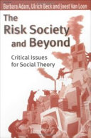 Pdf The Risk Society and Beyond